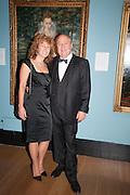 DEBRA WEISS; MARK WEISS;, Mark Weiss dinner, Nationaal Portrait Gallery. London. 15 October 2012.