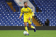 AFC Wimbledon defender Terell Thomas (6) dribbling during the EFL Trophy match between U21 Chelsea and AFC Wimbledon at Stamford Bridge, London, England on 4 December 2018.