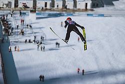 01.01.2021, Olympiaschanze, Garmisch Partenkirchen, GER, FIS Weltcup Skisprung, Vierschanzentournee, Garmisch Partenkirchen, Einzelbewerb, Herren, im Bild Richard Freitag (GER) // Richard Freitag of Germany during the men's individual competition for the Four Hills Tournament of FIS Ski Jumping World Cup at the Olympiaschanze in Garmisch Partenkirchen, Germany on 2021/01/01. EXPA Pictures © 2020, PhotoCredit: EXPA/ JFK