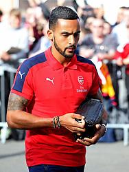 Theo Walcott of Arsenal arrives at Turf Moor  - Mandatory by-line: Matt McNulty/JMP - 02/10/2016 - FOOTBALL - Turf Moor - Burnley, England - Burnley v Arsenal - Premier League