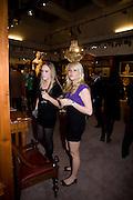 LEXI HOFNANN; MISHA ZELECHOWSKI, Preview party for the Versace Sale.  The contents of fashion designer Gianni Versace's villa on Lake Como. Sothebys. Old Bond St. London. 16 March 2009.  *** Local Caption *** -DO NOT ARCHIVE -Copyright Photograph by Dafydd Jones. 248 Clapham Rd. London SW9 0PZ. Tel 0207 820 0771. www.dafjones.com<br /> LEXI HOFNANN; MISHA ZELECHOWSKI, Preview party for the Versace Sale.  The contents of fashion designer Gianni Versace's villa on Lake Como. Sothebys. Old Bond St. London. 16 March 2009.