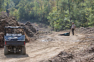 October 15th Winnsboro Texas, Envirnemntal activists in the Tar Sands Blockade arrested while trying to resupply 'tree sitters' in the Tree Blockade. The Tar Sands Blockade  holds their largest direct action protest to date, shutting down construction on one of  TransCanada's Keystone Pipeline worksites.
