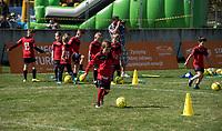 2016.07.23 Bialystok Pilka nozna Final FC Bayern Youth Cup 2018 na Stadionie Miejskim N/z szkolka pilkarska fot Michal Kosc / AGENCJA WSCHOD