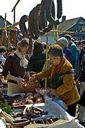 Lipnica Murowana, 2006-04-09. Kiermasz produktów regionalnych w Niedzielę Palmową w Lipnicy Murowanej