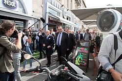 June 7, 2017 - Marseille, bouches du rhone, France - BERNARD CAZENEUVE , PATRICK MENNUCCI - ELECTIONS LEGISLATIVE A MARSEILLE . FRANCE , LE 06/06/2017 (Credit Image: © Visual via ZUMA Press)