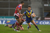 Rugby League - 2020 Coral Challenge Cup - Salford Red Devils vs Warrington Wolves - TW Stadium, St Helen's<br /> <br /> Warrington Wolves's Stefan Ratchford in action during todays match<br /> <br /> COLORSPORT/TERRY DONNELLY