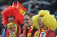 Fans of Spain during the International Friendly Game football match between Germany and Spain on march 23, 2018 at Esprit-Arena in Dusseldorf, Germany - Photo Laurent Lairys / ProSportsImages / DPPI