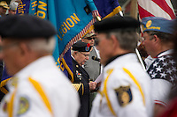 Memorial Day services in Meredith, NH.  Karen Bobotas for the Laconia Daily Sun
