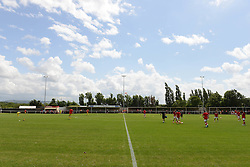 A general view of Brislington Stadium - Photo mandatory by-line: Dougie Allward/JMP - Mobile: 07966 386802 - 05/07/2015 - SPORT - Football - Bristol - Brislington Stadium - Pre-Season Friendly