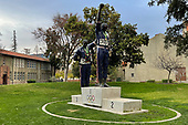 Track and Field-San Jose State Victory Salute Statue-Dec 25, 2020