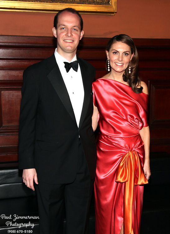 NEW YORK, NY - MARCH 17:  (L-R) William Schlumberger and Sabina Schlumberger attend the Lycee Francais de New York 2012 gala at the Park Avenue Armory on March 17, 2012 in New York City.  (Photo by Paul Zimmerman/WireImage)