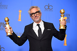 January 6, 2019 - Los Angeles, California, U.S. - Alfonso Cuaron in the Press Room during the 76th Annual Golden Globe Awards at The Beverly Hilton Hotel. (Credit Image: © Kevin Sullivan via ZUMA Wire)