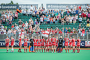 Photos from in and around the Quintin Hogg Memorial Sports Ground, University of Westminster during the Investec Hockey World League Semi Final 2013, London, UK on 29 June 2013. Photo: Simon Parker