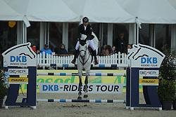 Lopez Rene, (COL), Con Dios III<br /> CSI4* Qualifikation DKB-Riders<br /> Horses & Dreams meets Denmark - Hagen 2016<br /> © Hippo Foto - Stefan Lafrentz