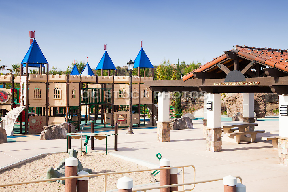 Courtney's Sand Castle Universal Playground San Clemente