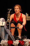 Dresden, GERMANY, Rachel  ARMSTRONG  competing at the European Indoor Rowing Championships, Margon Arena,  15/12/2007 [Mandatory Credit Peter Spurrier/Intersport Images]