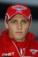 Max Chilton is Britain's fourth driver on the Formula 1 grid in 2013.