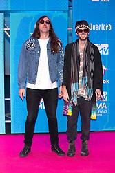 November 4, 2018 - Bilbao, Bizkaia, Spanien - Sebastian Pringle und Gilbert Vierich von den Crystal Fighters bei der Verleihung der MTV European Music Awards 2018 in der Bizkaia Arena. Bilbao, 04.11.2018 (Credit Image: © Future-Image via ZUMA Press)