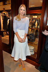 VOGUE WILLIAMS at a party to celebrate the publication of Front Roe by Louise Roe held at Ralph Lauren, 1 New Bond Street, London on 1st April 2015.
