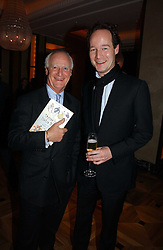 Left to right, NIGEL MASSEY and his son JAMES MASSEY at a party to celebrate the publication of 'Dancing into Waterloo' by Nick Foulkes held at The Westbury Hotel, Conduit Street, London on 14th December 2006.<br /><br />NON EXCLUSIVE - WORLD RIGHTS