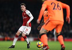 22 December 2017 London : Premier League Football : Arsenal v Liverpool : Mesut Ozil of Arsenal.<br /> (photo by Mark Leech)