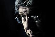20160720/ adhocFOTOS/ URUGUAY/ MONTEVIDEO/ club Banco Hipotecario/ Acto de cierre de campaña de Javier Miranda, uno de los candidatos a la presidencia del Frente Amplio.<br /> En la foto:  Javier Miranda. Foto: Javier Calvelo/ adhocFOTOS