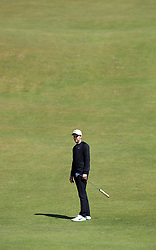 England's Ashley Chesters on the 2nd green during day three of the Betfred British Masters at Hillside Golf Club, Southport.