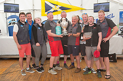 Sailing - SCOTLAND  - 28th May 2018<br /> <br /> Final days racing the Scottish Series 2018, organised by the  Clyde Cruising Club, with racing on Loch Fyne from 25th-28th May 2018<br /> <br /> Overall winners, IRL1141, Storm, David Kelly, HYC/RSC,J109<br /> <br /> Credit : Marc Turner<br /> <br /> Event is supported by Helly Hansen, Luddon, Silvers Marine, Tunnocks, Hempel and Argyll & Bute Council along with Bowmore, The Botanist and The Botanist