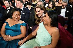 Oscar® nominees, Yalitza Aparicio and Marina de Tavira during the live telecast of The 91st Oscars® at the Dolby® Theatre in Hollywood, CA on Sunday, February 24, 2019.