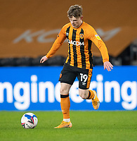 Hull City's Keane Lewis-Potter<br /> <br /> Photographer Andrew Vaughan/CameraSport<br /> <br /> The EFL Sky Bet League One - Hull City v Charlton Athletic - Saturday 2nd January 2021 - KCOM Stadium - Kingston upon Hull<br /> <br /> World Copyright © 2021 CameraSport. All rights reserved. 43 Linden Ave. Countesthorpe. Leicester. England. LE8 5PG - Tel: +44 (0) 116 277 4147 - admin@camerasport.com - www.camerasport.com