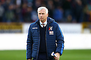 Crystal Palace Manager Alan Pardew makes his way to the dugout. Premier League match, Burnley v Crystal Palace at Turf Moor in Burnley , Lancs on Saturday 5th November 2016.<br /> pic by Chris Stading, Andrew Orchard sports photography.