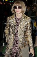 Anna Wintour, A Green Carpet Challenge BAFTA Night To Remember, BAFTA Piccadilly, London UK, 18 September 2016, Photo by Brett D. Cove