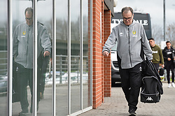 January 26, 2019 - Rotherham, England, United Kingdom - Marcelo Bielsa, manager of Leeds United before the Sky Bet Championship match between Rotherham United and Leeds United at the New York Stadium, Rotherham, England, UK, on Saturday 26th January 2019. (Credit Image: © Mark Fletcher/NurPhoto via ZUMA Press)