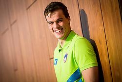 Peter John Stevens during practice session of Slovenian Swimming National Team, on June 7, 2017 in Zusterna, Koper / Capodistria, Slovenia. Photo by Vid Ponikvar / Sportida
