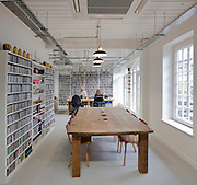 office in old street, london, ben adams architects