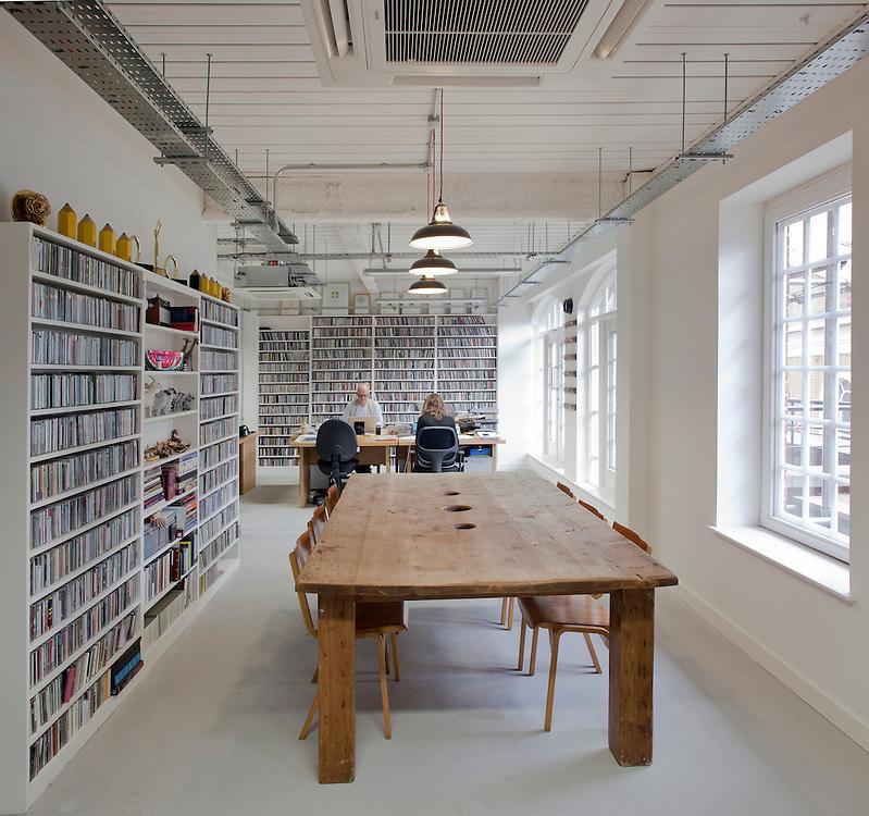 office in old street, london, ben adams architects