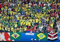 brazilian fans<br /> Moscow 27-06-2018 Football FIFA World Cup Russia  2018 <br /> Serbia - Brazil / Serbia - Brasile<br /> Foto Matteo Ciambelli/Insidefoto