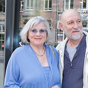 NLD/Amsterdam/20120610 -Uitreiking Johan Kaartprijs 2012, Pleunie Touw en partner Hugo Metsers Sr.