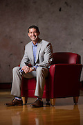 Ryan Willman, corporate controller at Republic Airways, posses for a portrait in the companies Indianapolis offices Wednesday, Jan. 6, 2016.