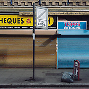 Topps Dry Cleaning. <br /> 5 Atlantic Road <br /> <br /> Mr Adamson opened his shop 17 years ago. If they will be evicted 2 people will lose their jobs.