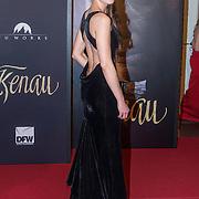 NLD/Haarlem/20140324 - Filmpremiere Kenau, Actrice Sallie Harmsen (Kathelijne, de overgebleven dochter van Kenau)