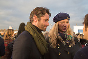DAVID BLAKELEY; JODIE KIDD, Hennessy Gold Cup, The Racecourse Newbury. 30 November 2013.