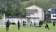New Zealand cricket team practice, Black Caps Training Session, at the University oval, Dunedin, New Zealand. Thursday 2 February 2012 . Photo: Richard Hood photosport.co.nz