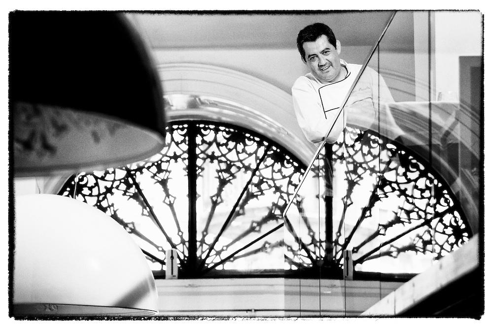 Chef Rui Paula no Restaurante DOP