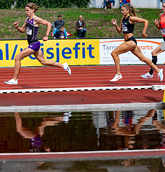 / in action on the 1500m section during the Dutch Athletics Championships (NK) on the athletics track Maarschalkerweerd on 30 August 2020 in Utrecht.