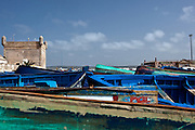 Fishing is an significant part of the economy of this sea port. Essaouira was an important trading post and port beginning with the Phoenicians. Moroccan fishermen put a lot of pride and quite a number of hours in decorating their boats.