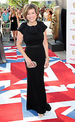 Kate Silverton arriving at the British Academy Television Awards in London, Sunday , 27th May 2012.  Photo by: Stephen Lock / i-Images
