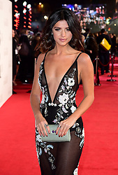 Lucy Mecklenburgh arriving for the Fifty Shader Darker European Premiere held at Odeon Leicester Square, London.