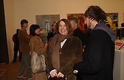 SARA LUCAS, Martin Kippenberger, Tate Modern. 7 Febriuary 2006. -DO NOT ARCHIVE-© Copyright Photograph by Dafydd Jones 66 Stockwell Park Rd. London SW9 0DA Tel 020 7733 0108 www.dafjones.com