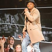 NLD/Hilversum/20151205- Eerste Live uitzending The Voice 2015,  Brace